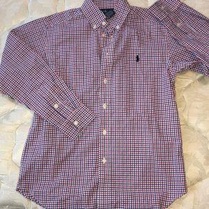 Ralph Lauren polo long sleeve BD boys size 12